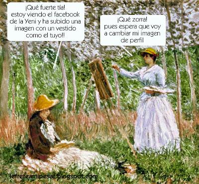 Monet, redes sociales, facebook