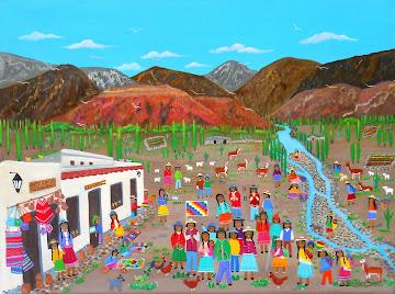 COYAS Indios de Argentina y Bolivia
