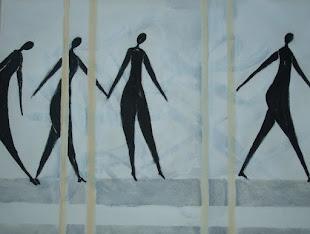 svarta figurer