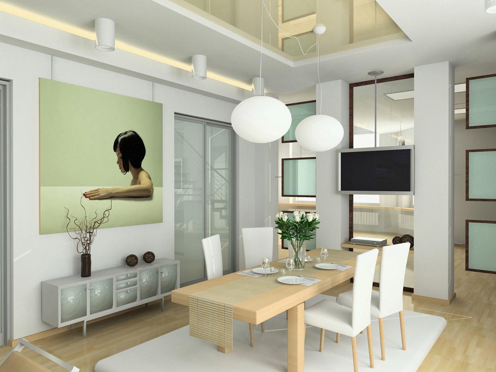 Empat Tips Membuat Desain Minimalis Ruang Makan De RuMi