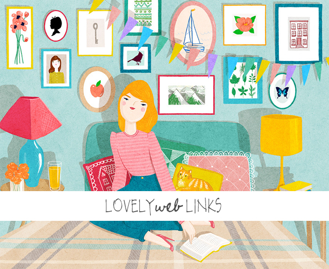 Lovely Web Links Including Art Prints by Kris Atomic