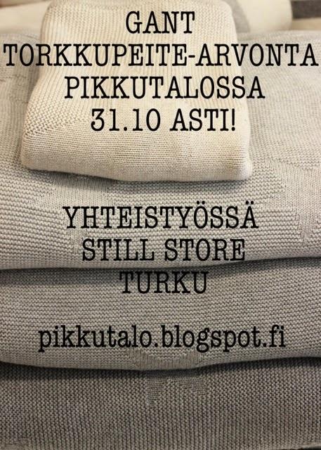 PIKKUTALOSSA GANT ARVONTA 31.10 ASTI