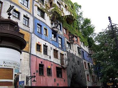 La Hundertwasserhaus de Viena