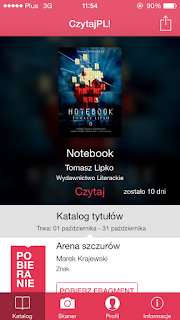 """Notebook"" Tomasz Lipko"
