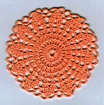 Free Vintage Crochet Coaster Patterns : Crochet Memories Blog: Vintage Ruffled Coaster