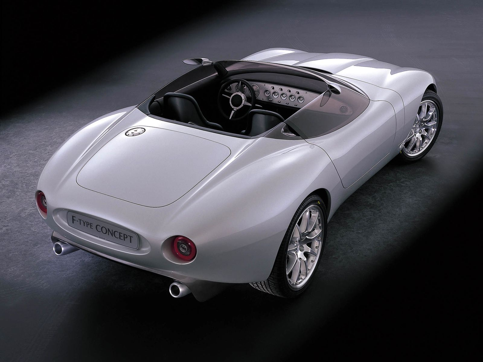 Jaguar f type concept from 2000