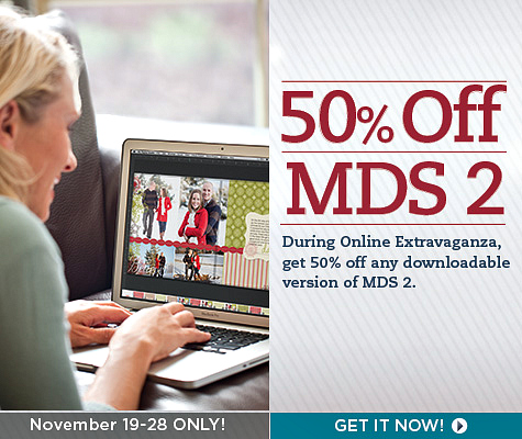 Save 50% on any downloadable version of MDS 2 Digital Design Software