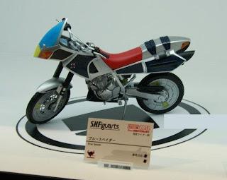 Bandai SH Figuarts Kamen Rider Blade Blue Spader Bike