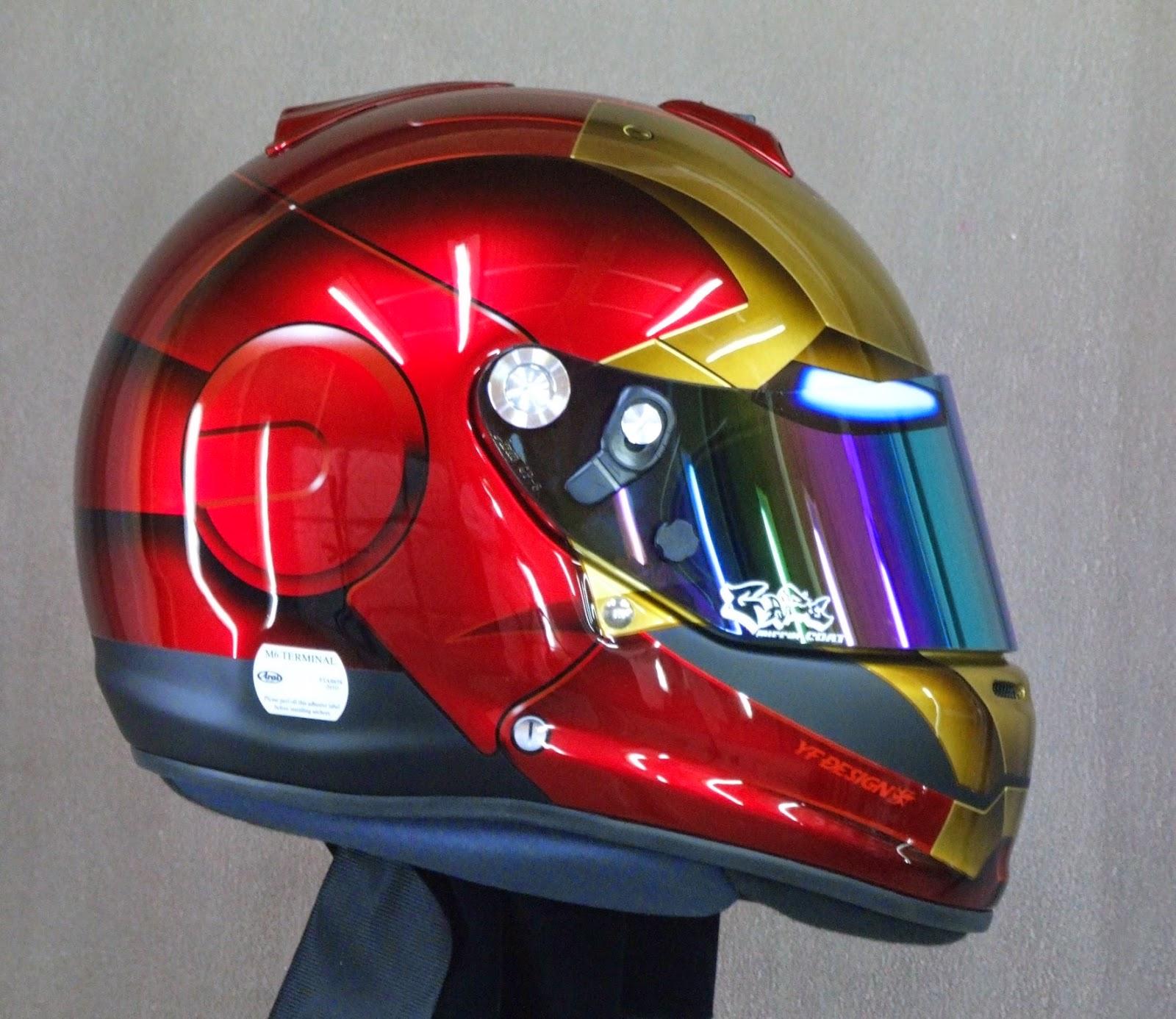 Racing Helmets Garage Arai Gp 6s Quot Ironman Quot 2014 By Yf Design