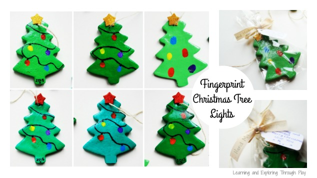 Learning And Exploring Through Play Salt Dough Fingerprint