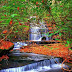 Autumn, Grogan Creek Waterfall, North Carolina