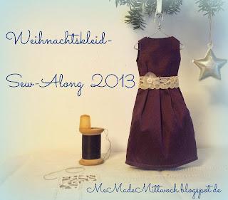 Weihnachtskleid Sew-Along