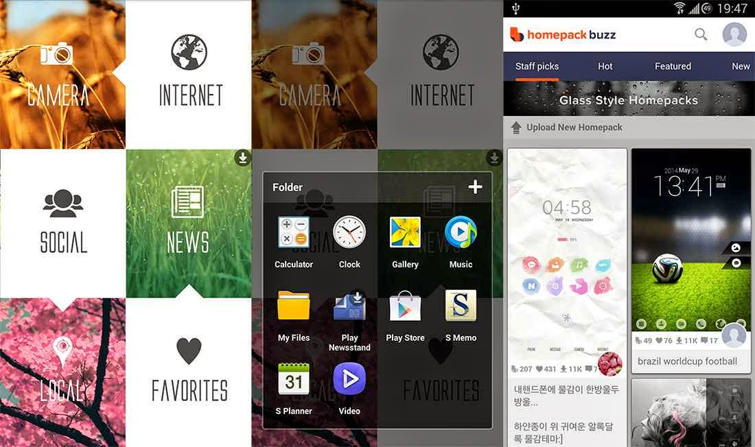 Buzz Launcher v1.0.5.4 Full Android İndir