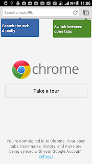 Chrome_Android Web Browser