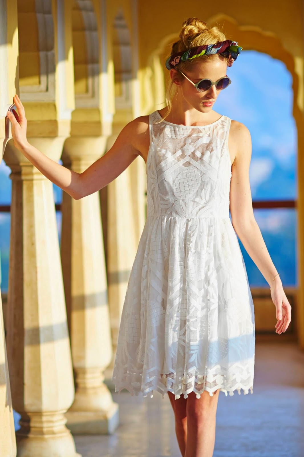 anthropologie pina lace dress