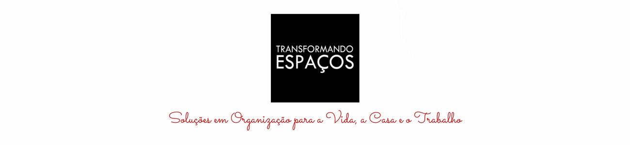 Transformando Espaços - Dicas de Organização