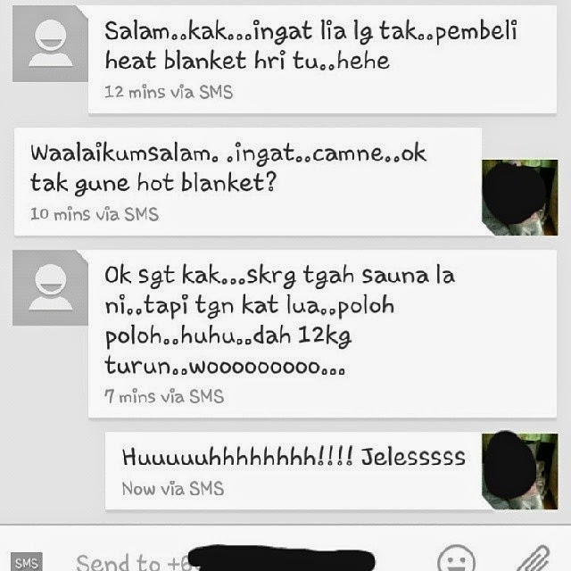 TESTIMONI : INFRARED THERMAL SLIMMING BLANKET