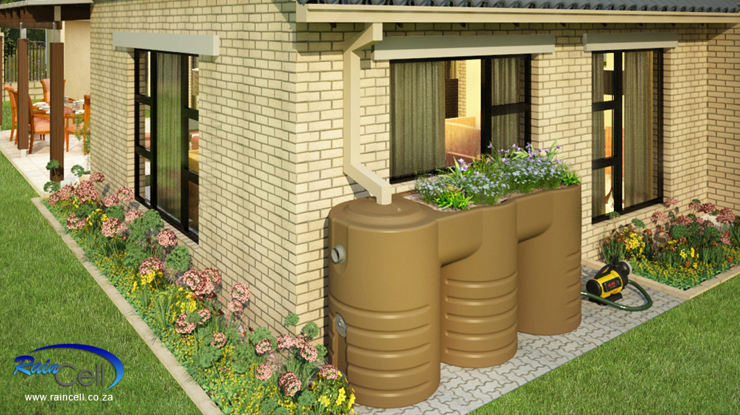 Raincell rainwater harvesting for Rainwater harvesting at home
