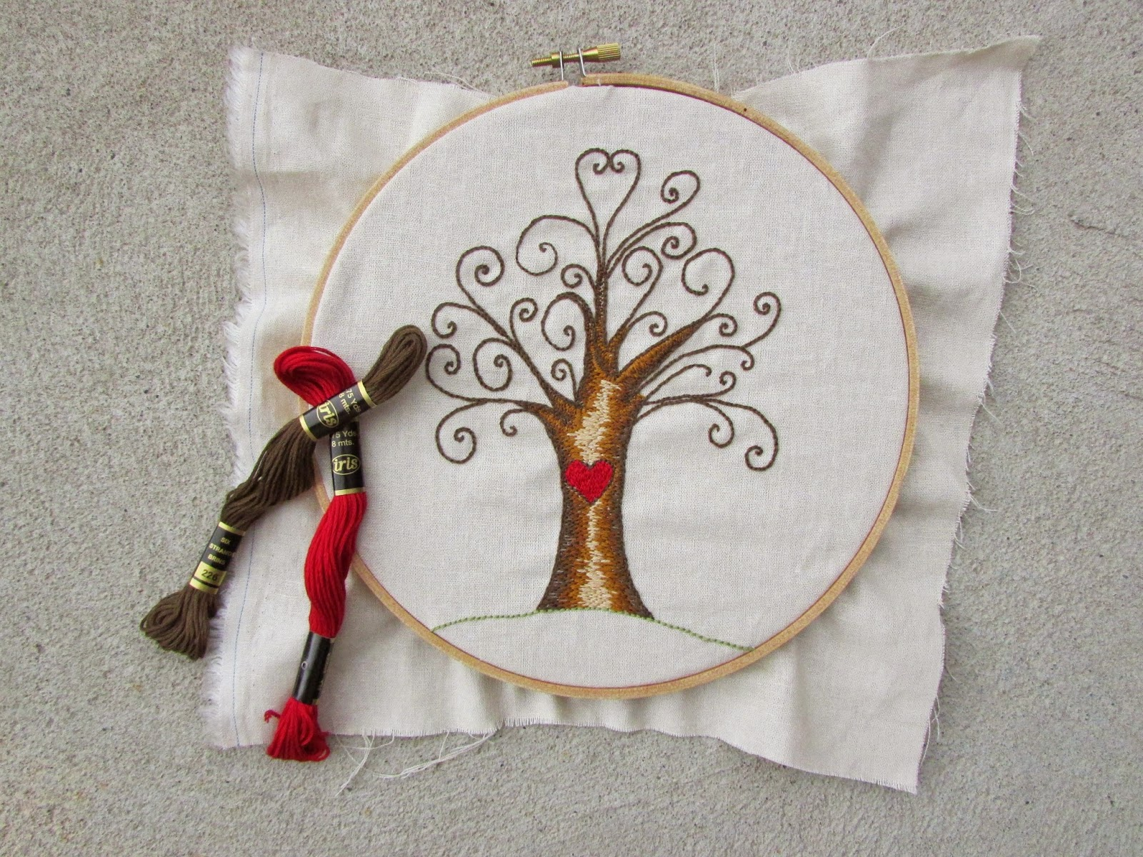 A lively hope swirly tree hand embroidery doodling and drawing each day ive noticed a theme emerging nature and love one of my best selling embroidery patterns is this very simple tree bankloansurffo Choice Image