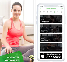 Fitness App of the Month - A 7 Minute Workout Challenge