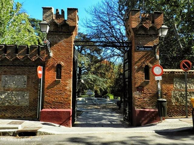 El parque la Quinta de la Fuente del Berro, Madrid Mis viajes y ...