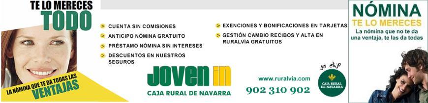 Joven in caja rural de navarra domiciliar tu n mina for Caja rural de navarra oficinas