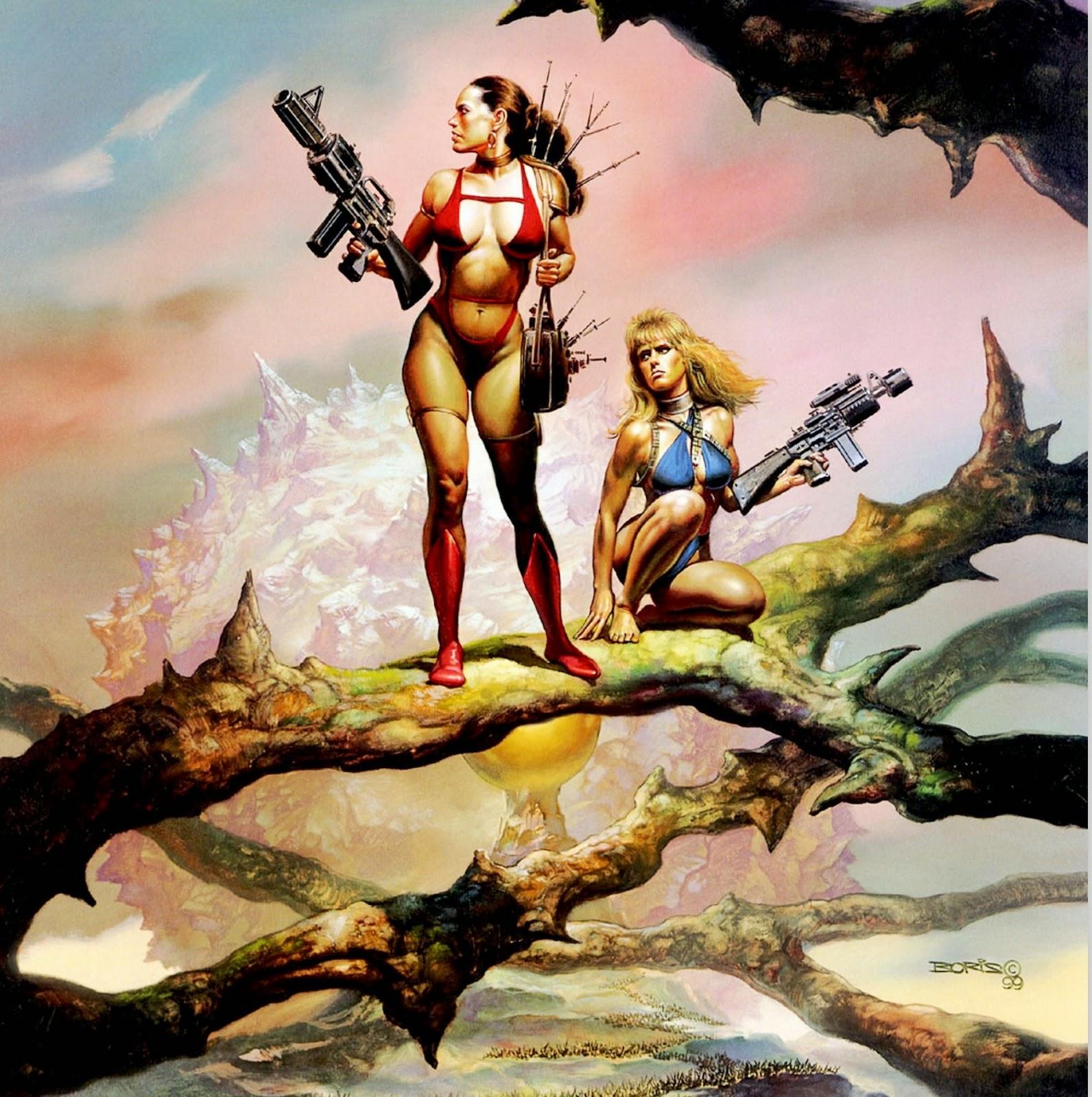 pinturas-al-oleo-mujeres-guerreras