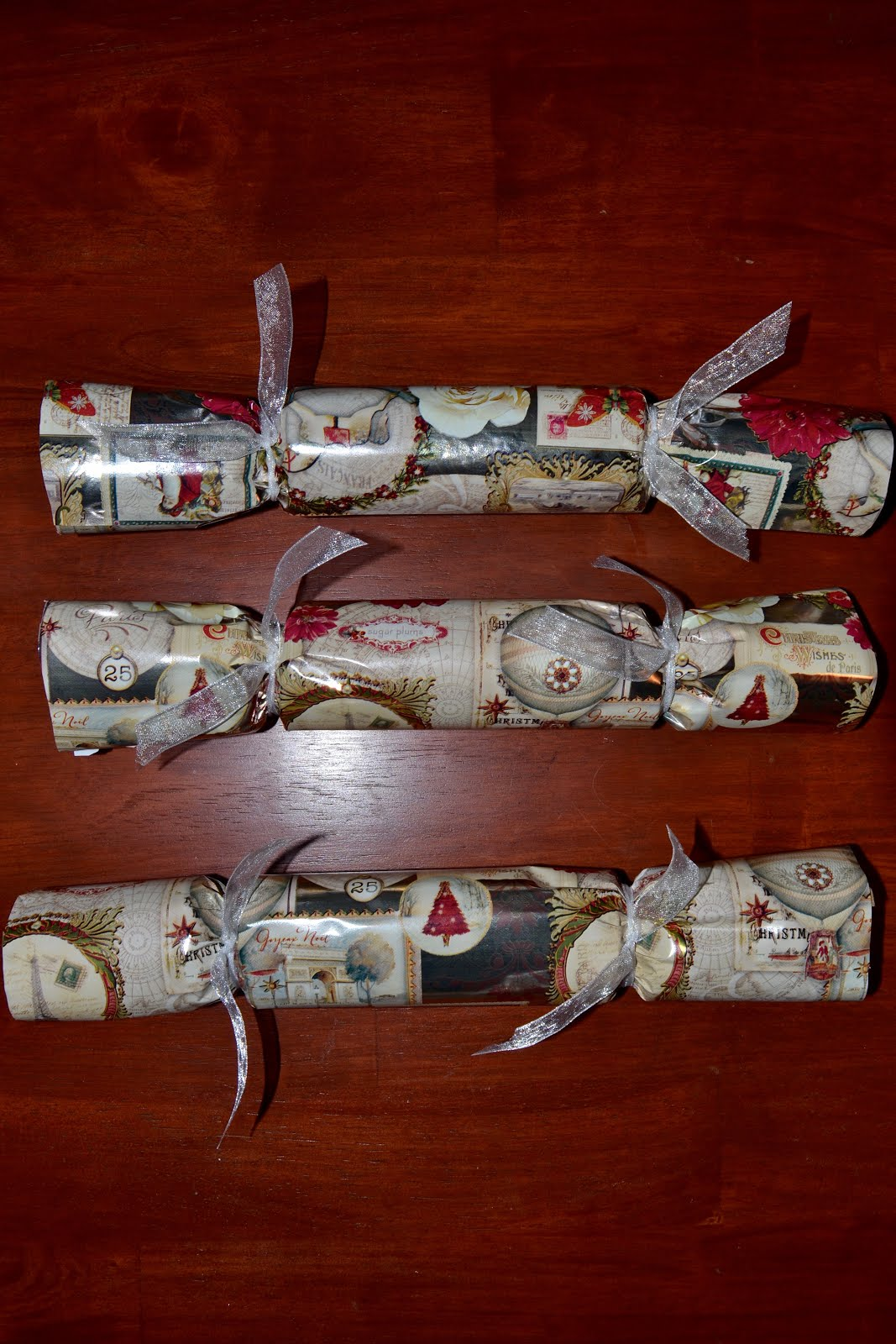 christmas crackers are an english christmas tradition that dates back to 1847 the cracker gets its name from the cracking noise it makes when pulled apart