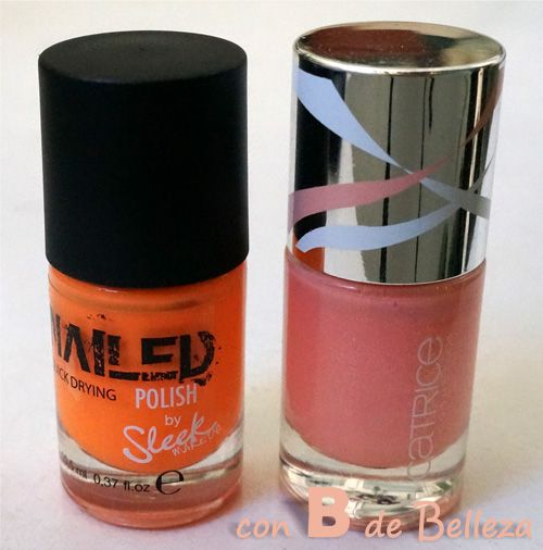 Esmaltes Sleek y Essence