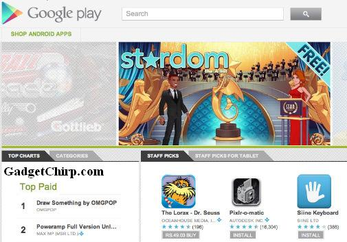 Android Market renamed to Google Play
