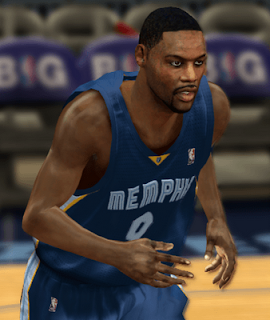 NBA 2K13 Tony Allen Cyber Face Download Mods