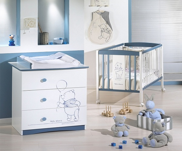 Chambre bebe winnie l ourson sauthon id es de d coration et de mobilier pour la conception de for Armoire bebe winnie lourson 2