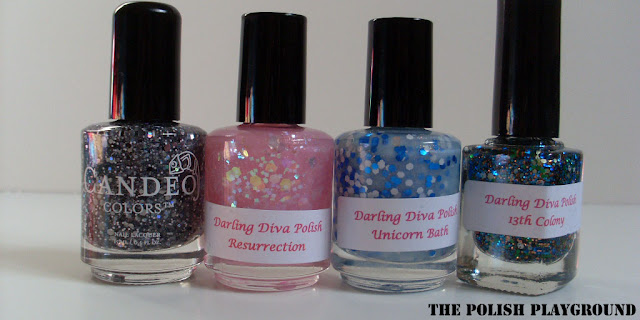 candeo colors, darling diva polish