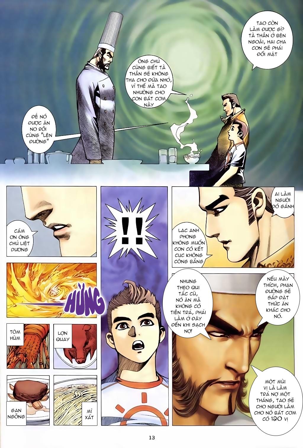 Xích Trụ Phạn Đường chap 5 - Trang 13