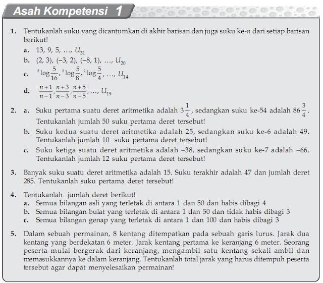 Materi Barisan dan Deret - Matematika Kelas XII IPA