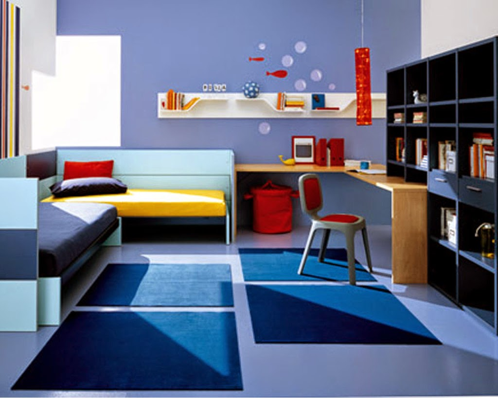 Creative Blue Kids Bedroom Design Part 68