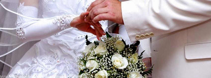 Couverture facebook pour évenement de mariage