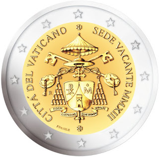 2 euro Vatican 2013