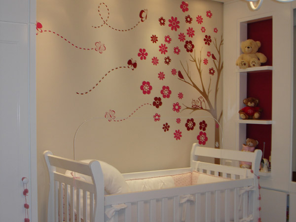 A arte de decorar Adesivos para quarto
