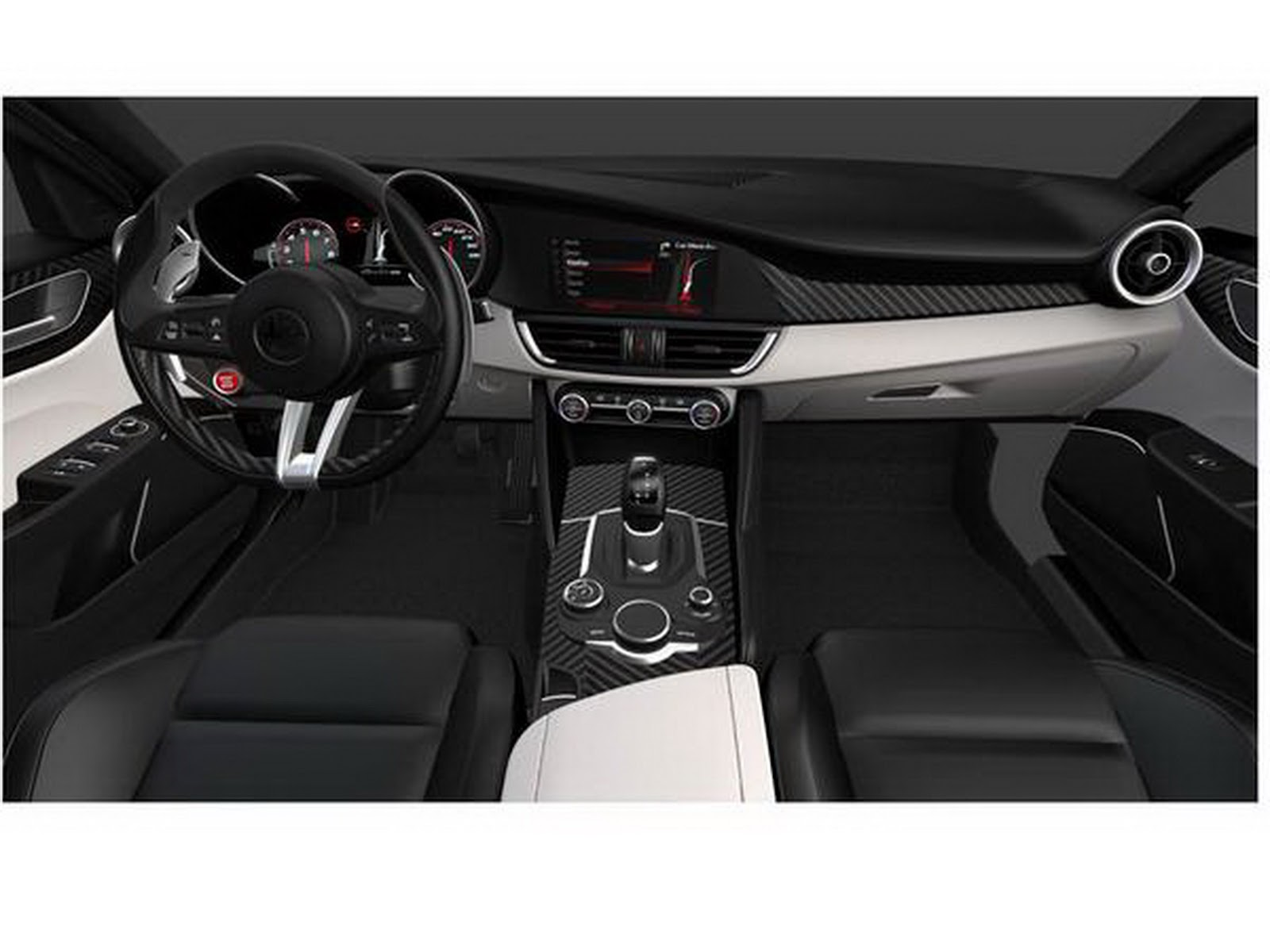 Are these new alfa romeo giulia images official for Interieur forum
