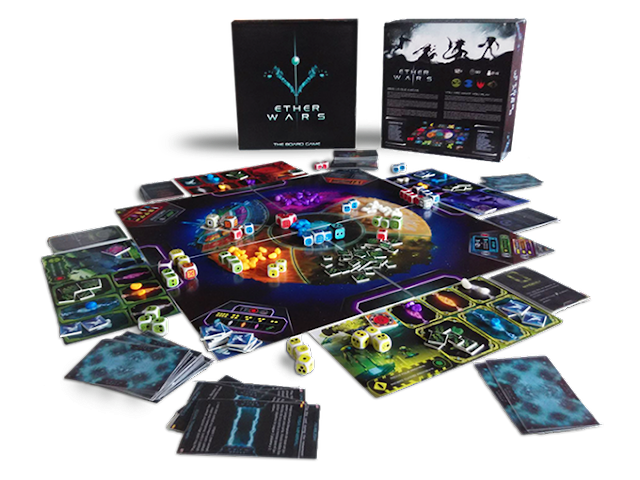 Ether Wars RTS dice based board game