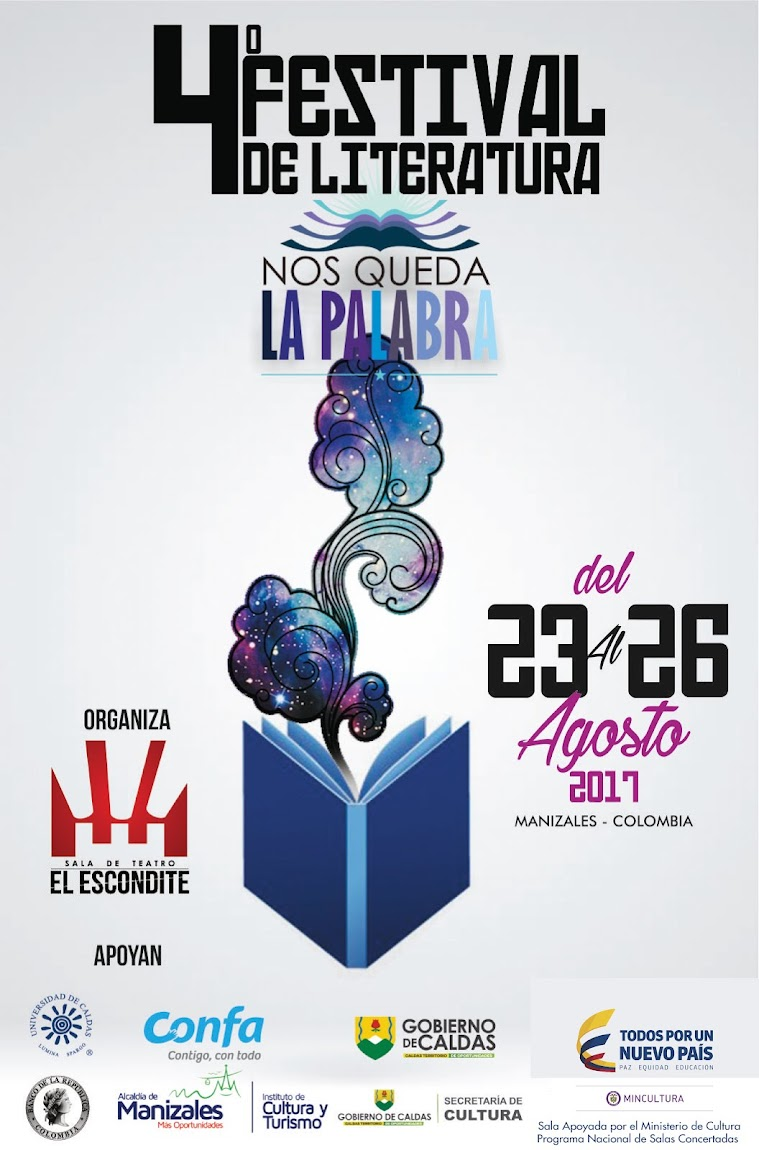 """Festival de Literatura """"Nos Queda La Palabra"""""""
