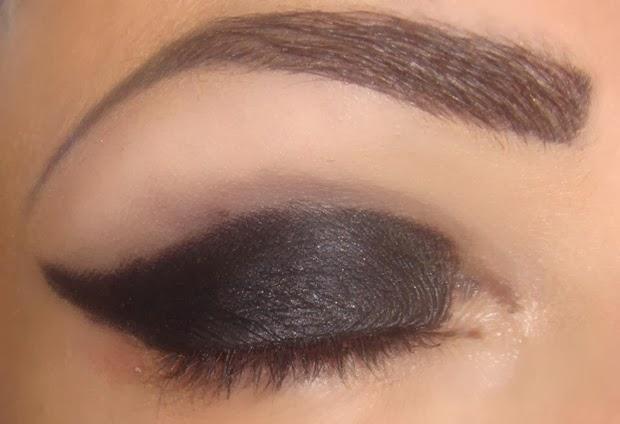 tutorial maquiagem com glitter