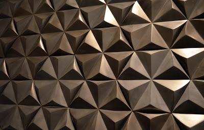 Polished Concrete Tile Wall, DEX Industries