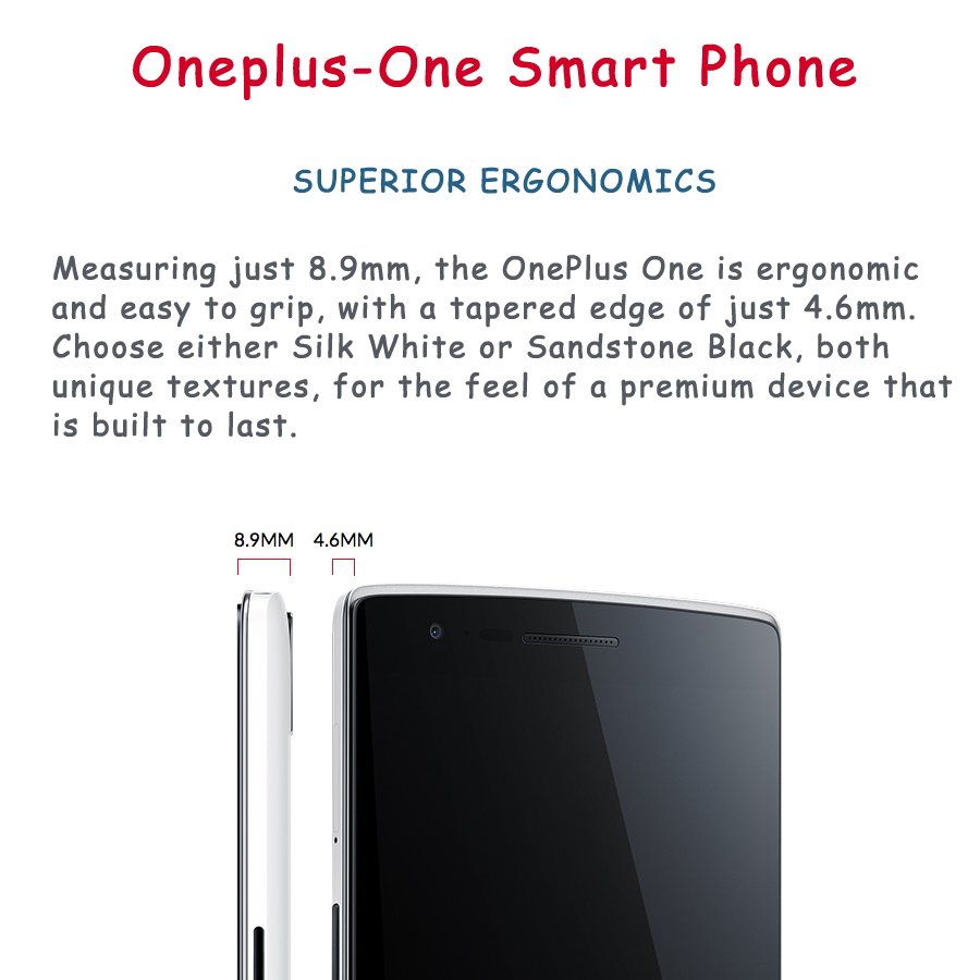 size of oneplus-one smartphone