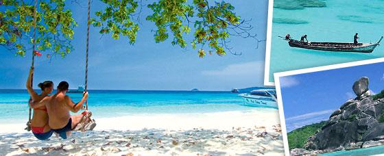 โปรแกรมทัวร์หมู่เกาะสิมิลัน โดยเรือสปีดโบ๊ท
