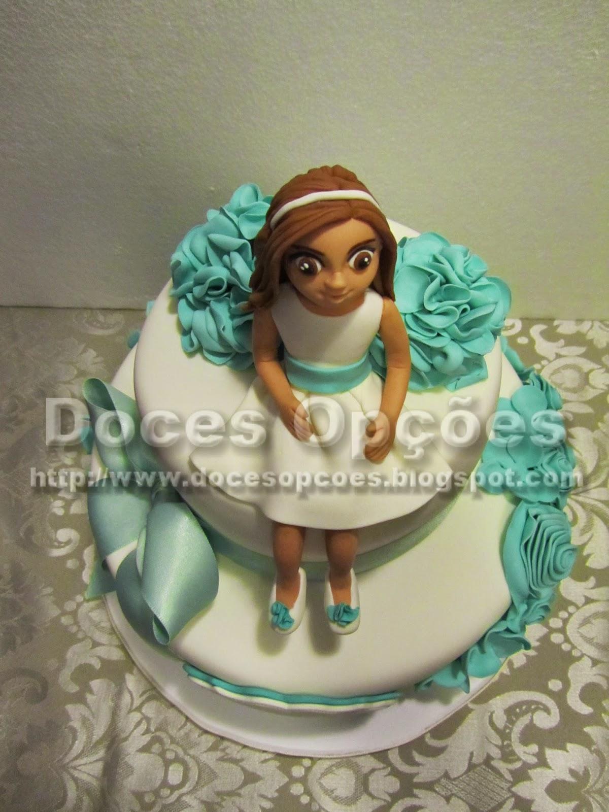 bolos comunhão decorados