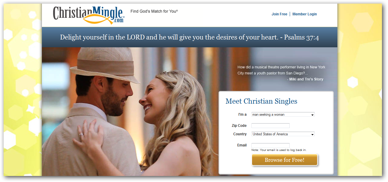 Connecting Christian Singles Since 1999