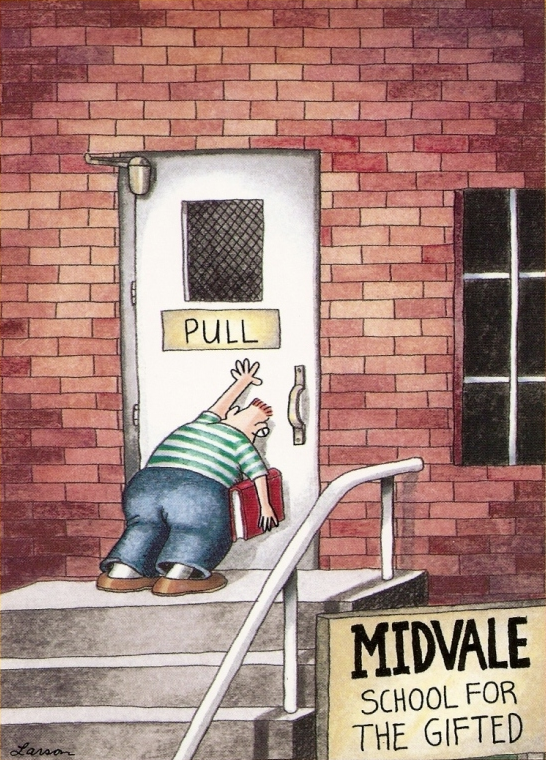 nd first look the far side of gary larson, Birthday card