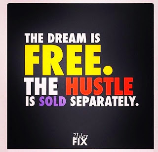 the dream is free, 21 day fix, Jaime messina